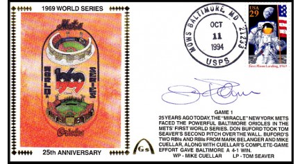 World Series 1969 Set (Jim Palmer) -Gm 1)