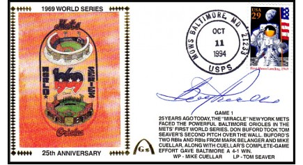 World Series 1969 Set  (Boog Powell-Gm 1)