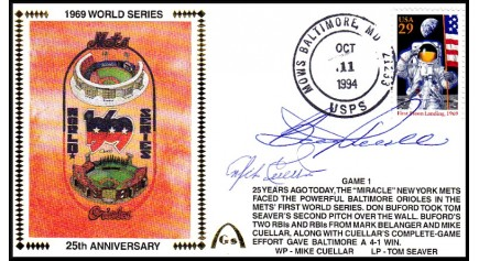 World Series 1969 (Mike Cuellar & Boog Powell ) -Gm 1)