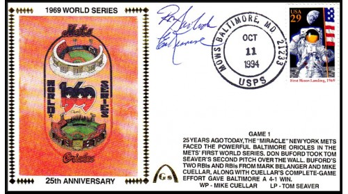 World Series 1969 Set  (Ed Kranepol & Swaboda) -Gm 1)