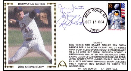 World Series 1969 (ADD:- (Kranepool/Swaboda/Grote -Gm 4)