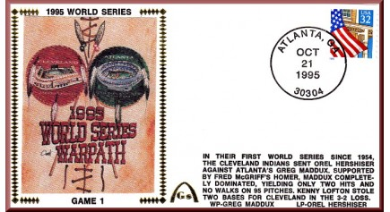 World Series 1995 - Cleveland vs. Atlanta (Unautographed)