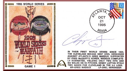 World Series 1995 - Cleveland Vs. Atlanta (ADD:  Chipper Jones)