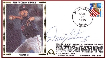 World Series 1995 - Cleveland Vs. Atlanta (ADD: Dennis Martinez )