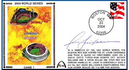 World Series 2004 - Boston Vs. St Louis (ADD: Jason Isringhausen – Gm.1)