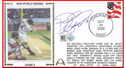World Series 2005  - Chicago  vs Houston  ( ADD:Konerko- Gm 2)