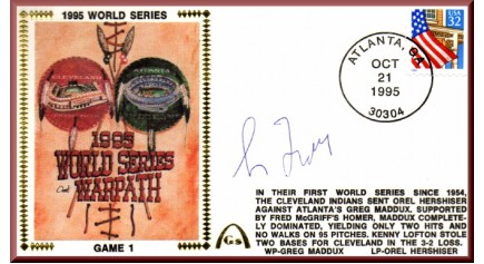 World Series 1995 - Cleveland Vs. Atlanta (ADD: Greg Maddux)