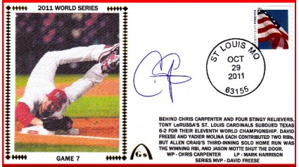 World Series 2011 - St. Louis vs Texas - Game 7 (ADD: Chris Carpenter)