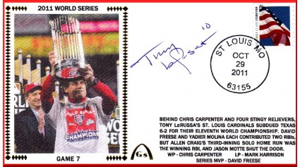 World Series 2011 - St. Louis vs Texas - Game 7 (ADD: Tony LaRussa)