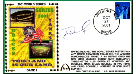 World Series 2001 - New York Vs. Arizona (ADD: Tony Womack)