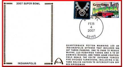 Super Bowl  2007 (Manning)