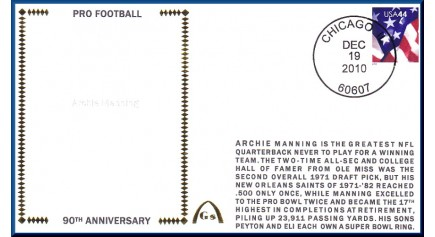 Manning, Archie (90th Ann)