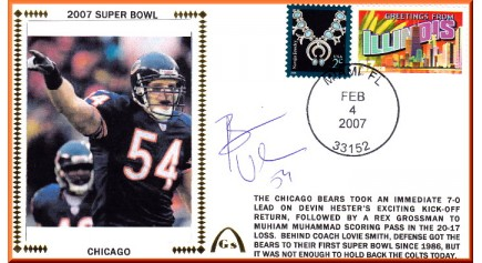 Super Bowl 2007 (Brian Urlacher)