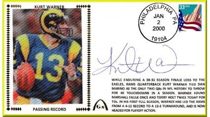 Warner, Kurt (Passing Record)