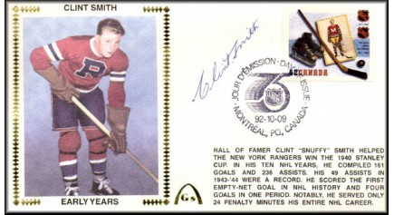 Smith, Clint (Canada FDC)