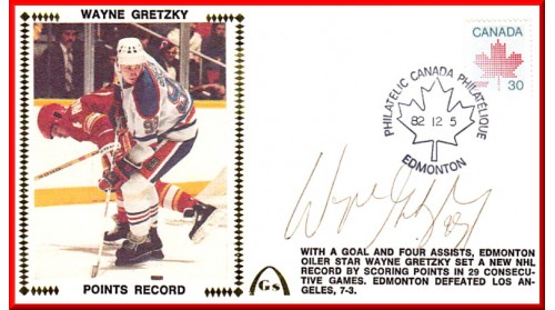 Gretzky, Wayne Points - SOLD OUT - Two Remain To Sell
