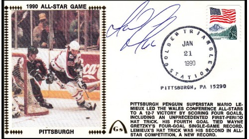 Lemieux, Mario, 1990 All- Star Game - SOLD OUT