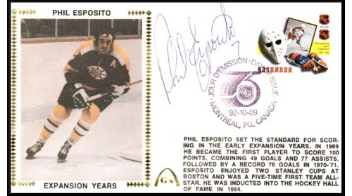 Esposito, Phil-Chicago (Canada FDC)