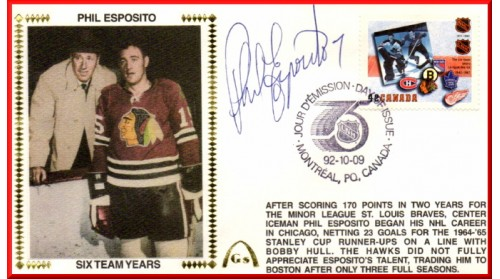 Esposito, Phil-Boston (Canada FDC)
